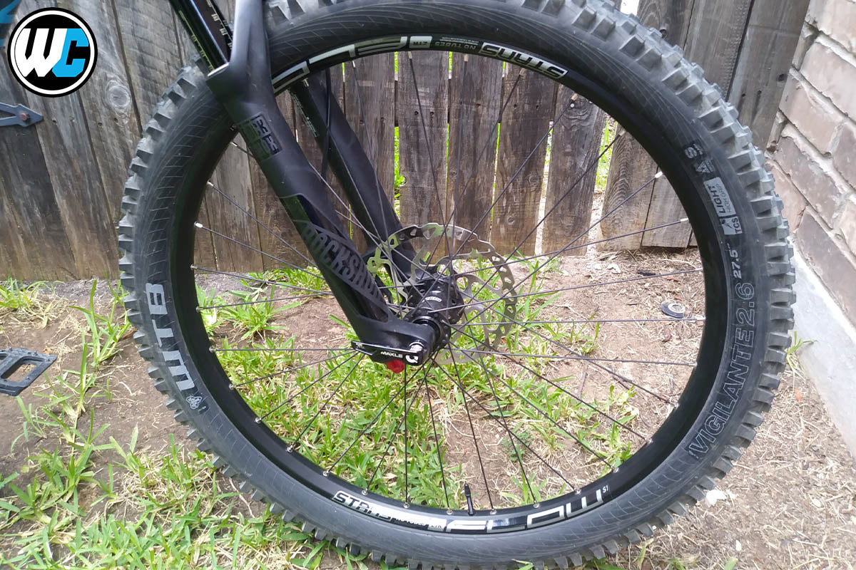 Stan's NoTubes Flow S1 Rear Wheel Rider Review