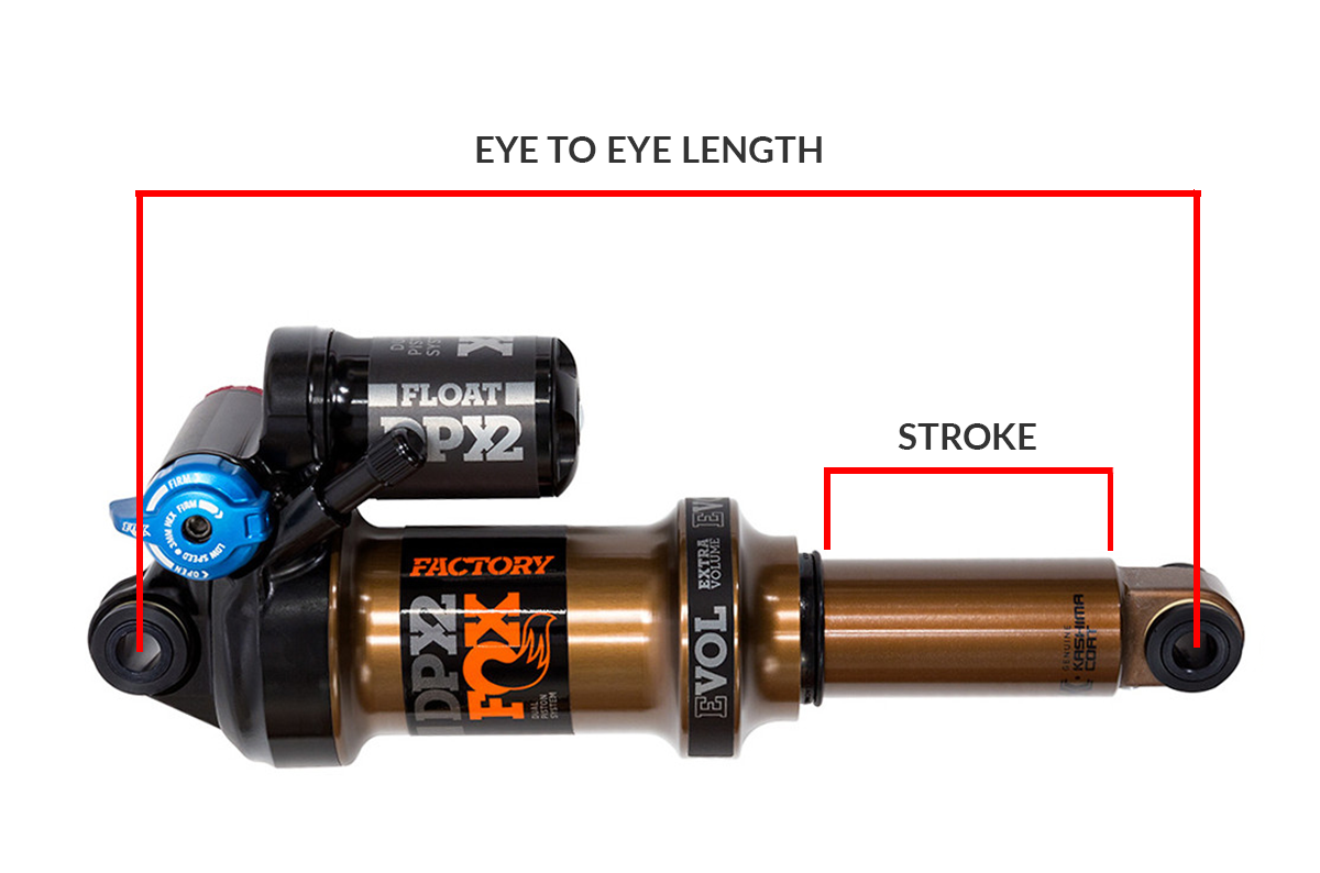 Video The Basics To Upgrading Rear Shock On Your Mountain Bike Bmx Cf Moto 500 Wiring Diagram Length And Stroke
