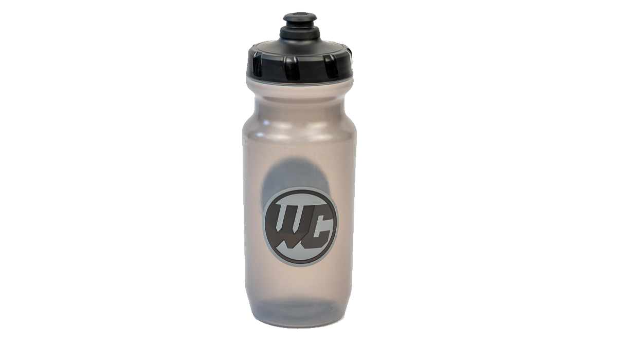 Trending Mountain Bike Products - Worldwide Cyclery Water Bottle 21oz. Stealth Logo