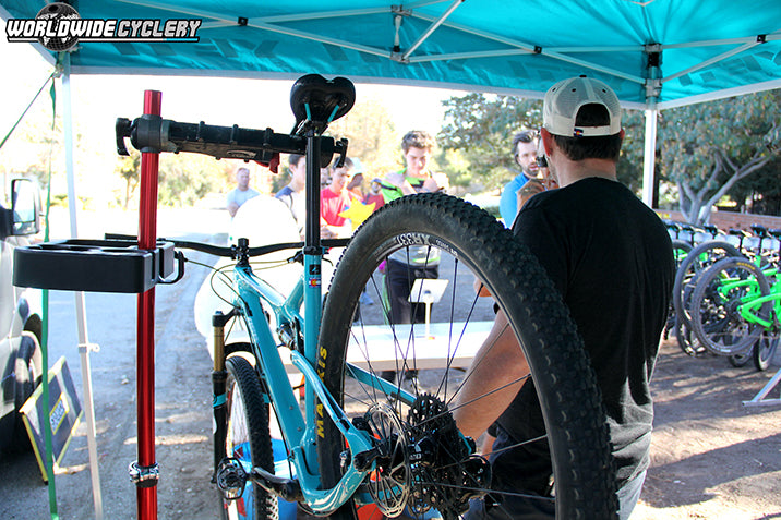 Worldwide Cyclery Yeti Demo Day