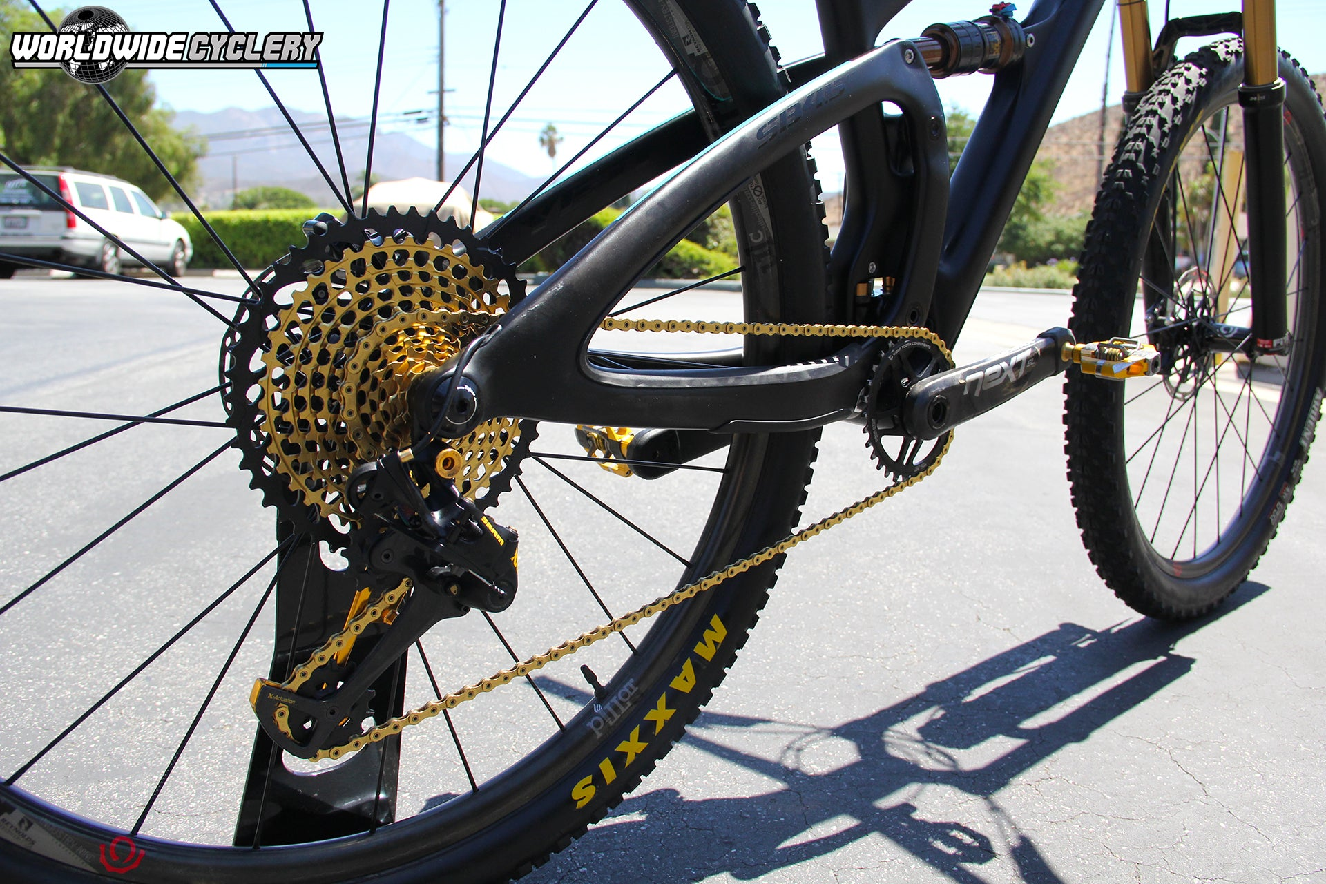 Yeti SB4.5c with SRAM Eagle 1 x 12 Drivetrain