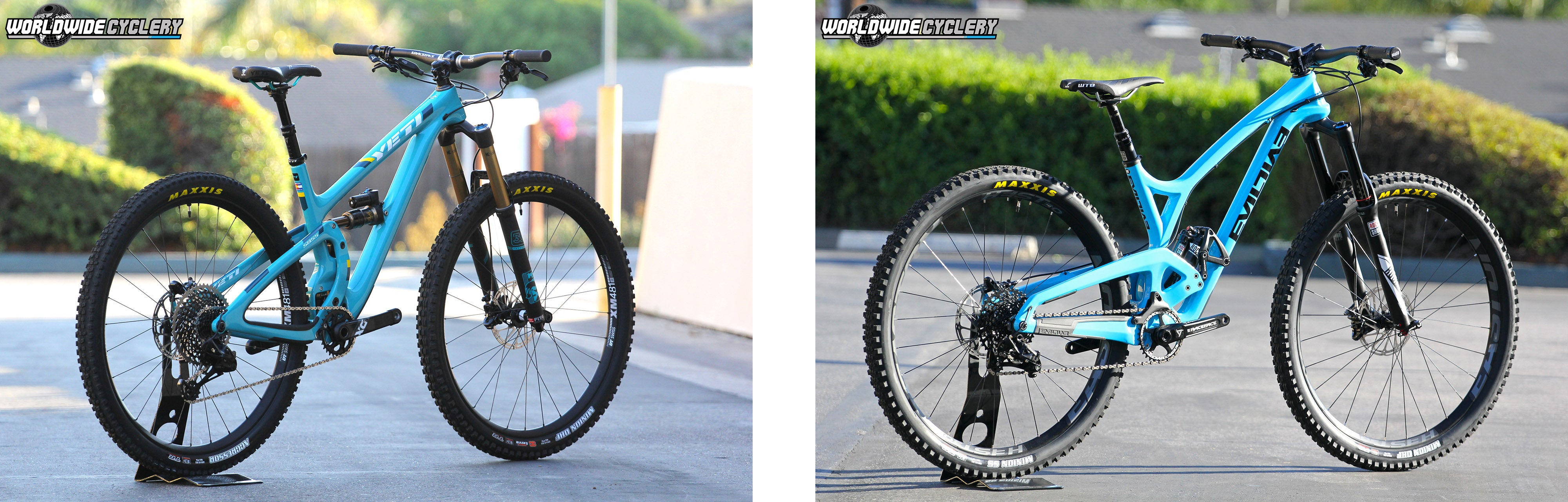Yeti SB5.5 vs Evil Wreckoning Shootout