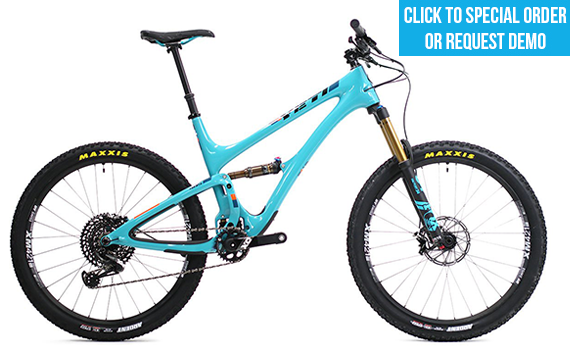 2018 Yeti SB5 T Series Turquoise Large Complete Bike w/ X01 Build