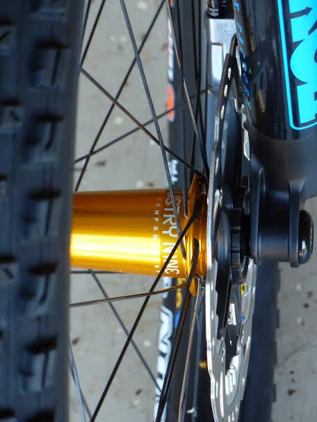 Customer Review: Industry Nine Torch Hubs with Derby Carbon Fiber Wide Rims - Worldwide Cyclery
