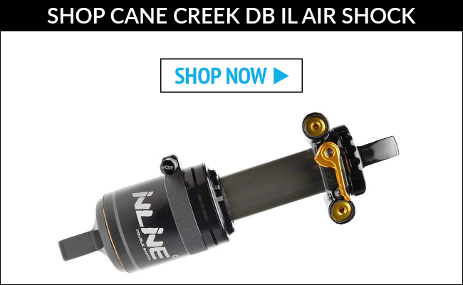 Shop cane creek double barrel inline rear shock