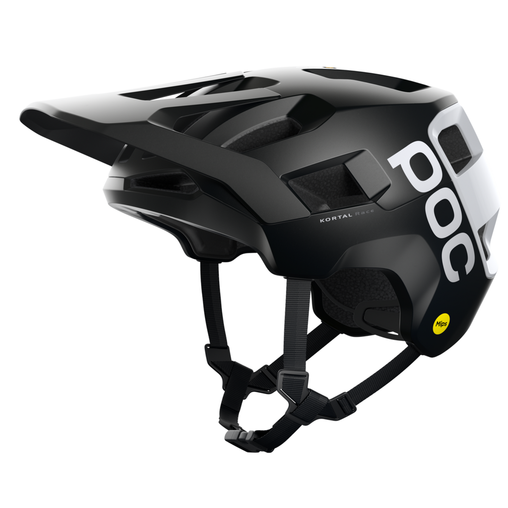 POC Kortal Race MIPS - Uranium Black Matt/Hydrogen White, Medium/Large