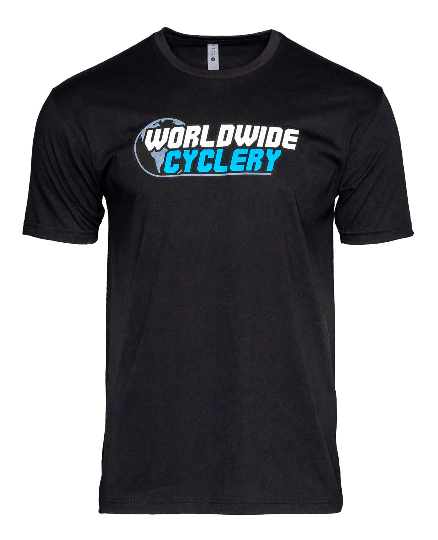Worldwide Cyclery T-Shirt Black 2X
