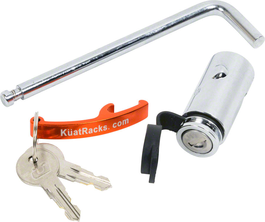 "Kuat Hitch Lock for 1-1/4"" Receiver Racks MPN: HL1011 UPC: 896581002942 Hitch Rack Accessory Locks"