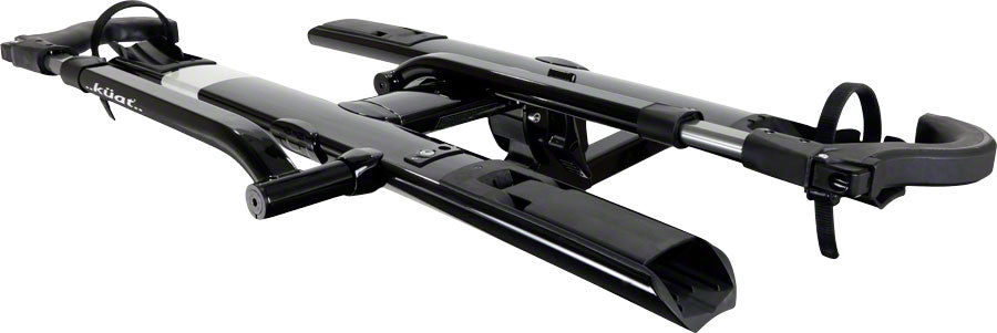 "Kuat Sherpa 2.0 Hitch Rack: 1.25"" Receiver, 2 Bike Trays, Black Metallic MPN: SH12B UPC: 896581002744"
