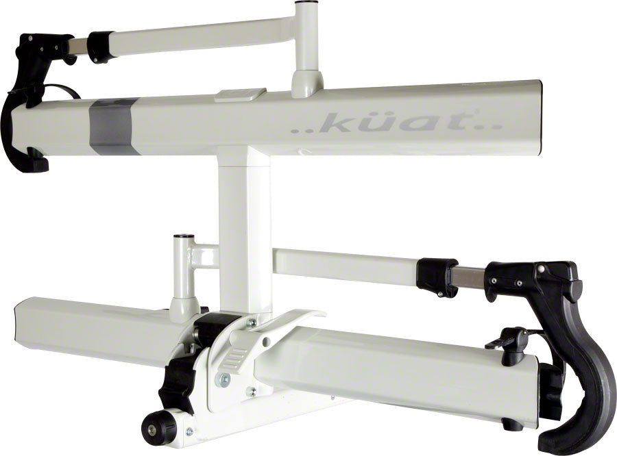 "Kuat Sherpa 2.0 Hitch Bike Rack - 2-Bike, 1-1/4"" Receiver, Pearl - Hitch Bike Rack - Sherpa 2.0 Hitch Bike Rack"