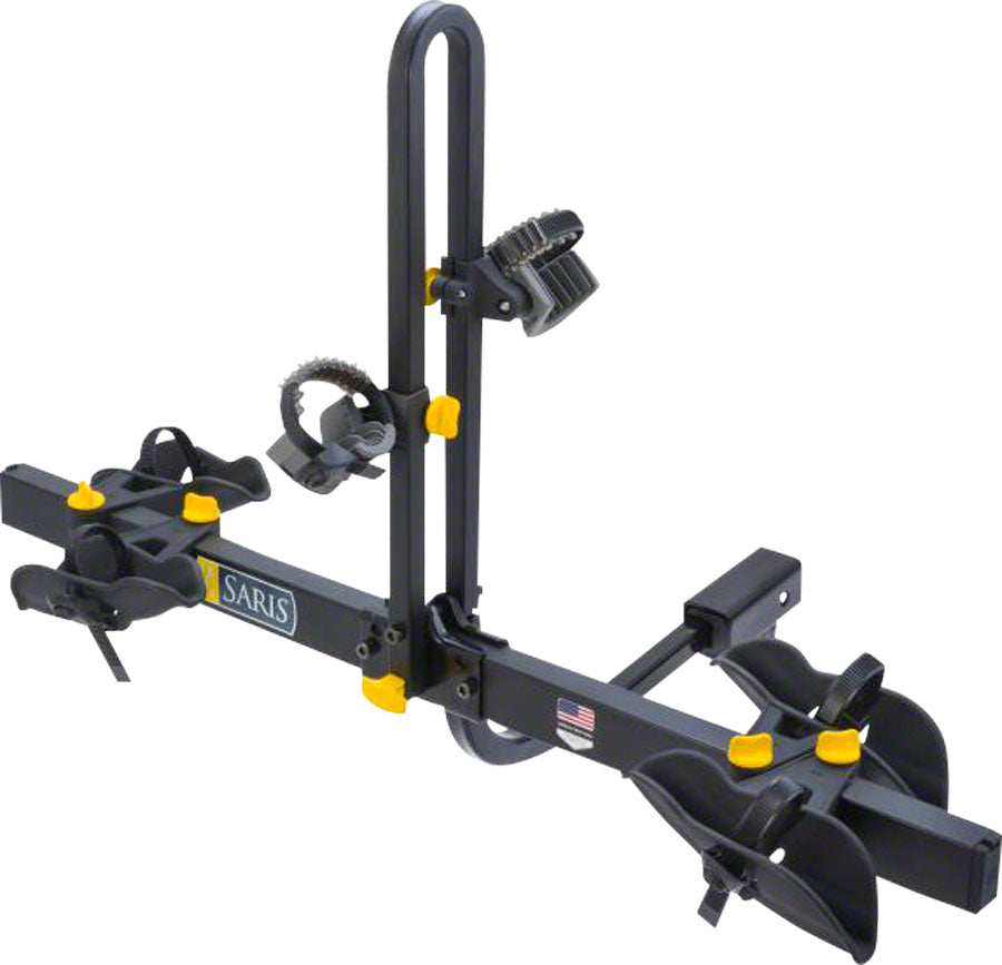 Saris Freedom Hitch Rack: 2 Bike, Universal Hitch, Black MPN: 4412B UPC: 012527010073