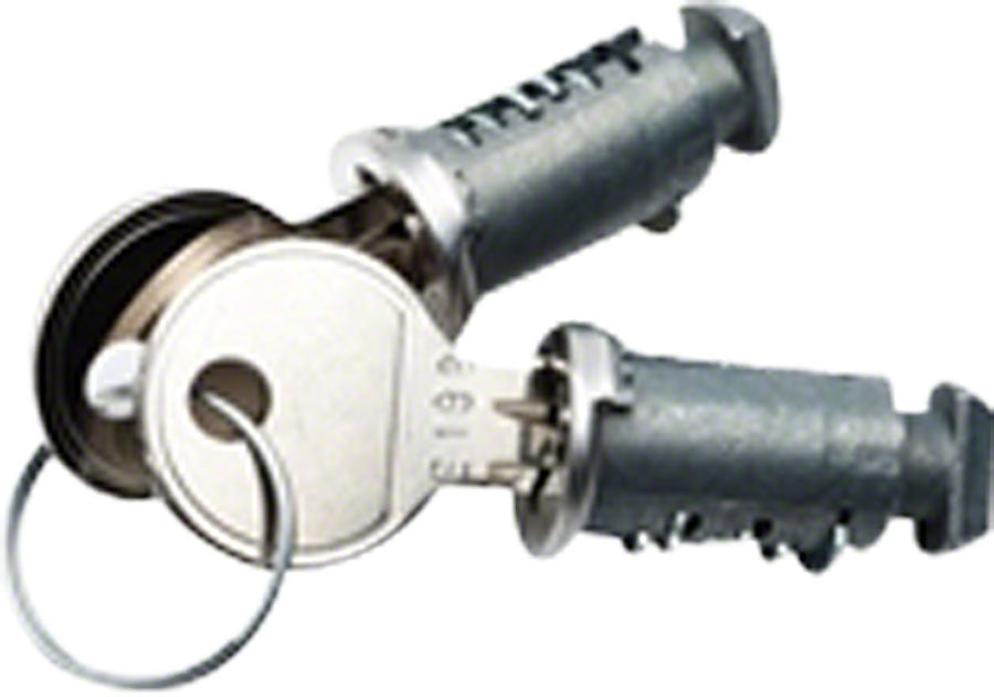 RockyMounts Double Lock Cores with 2 Keys