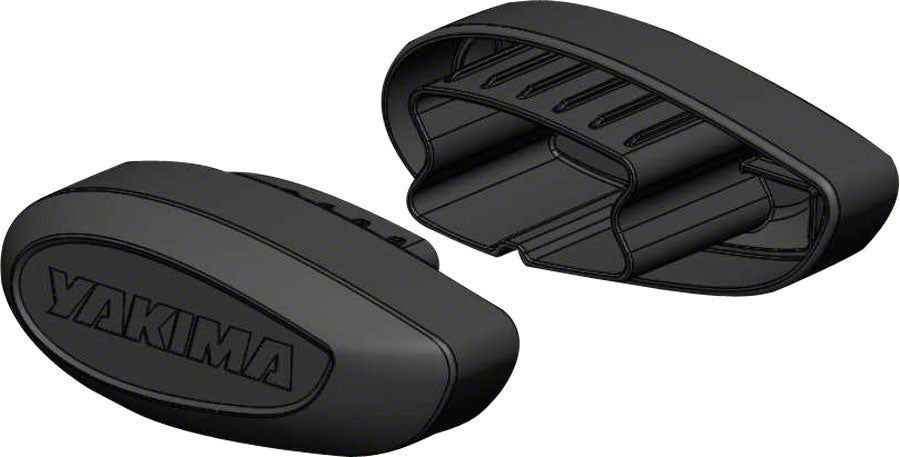 Yakima CoreBar End Caps: Black Sold in a Pair