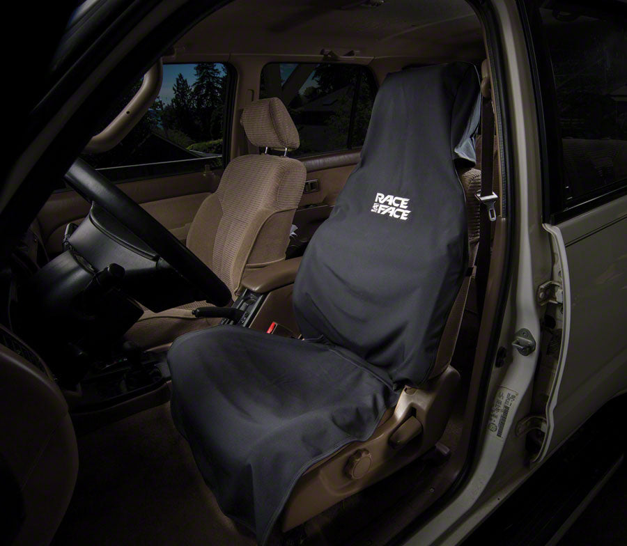 RaceFace Car Seat Cover: Black One Size