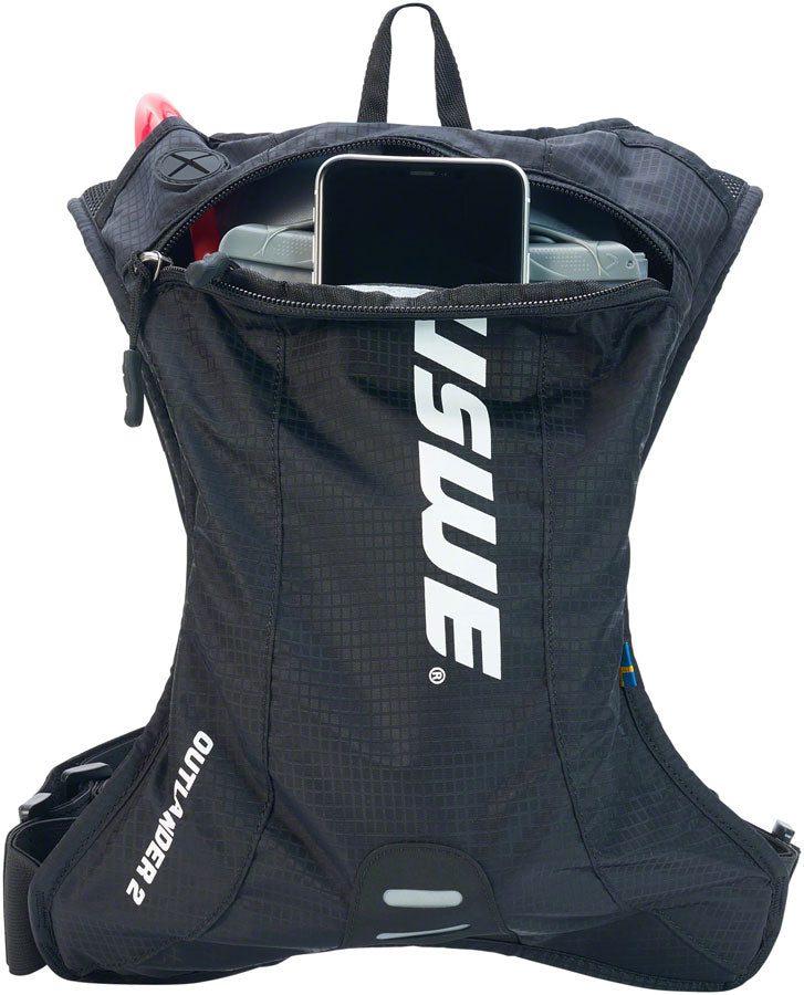 USWE Outlander 2 Hydration Pack - Carbon Black
