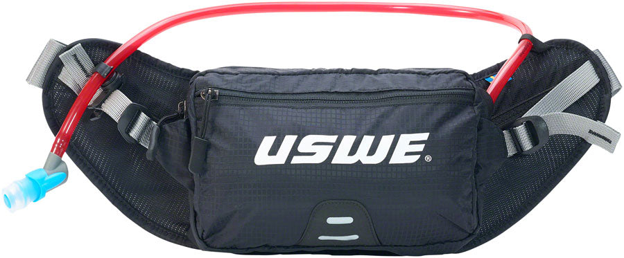 USWE Zulo 2 Lumbar Hydration Pack - Black