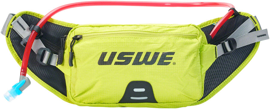 USWE Zulo 2 Lumbar Hydration Pack - Crazy Yellow