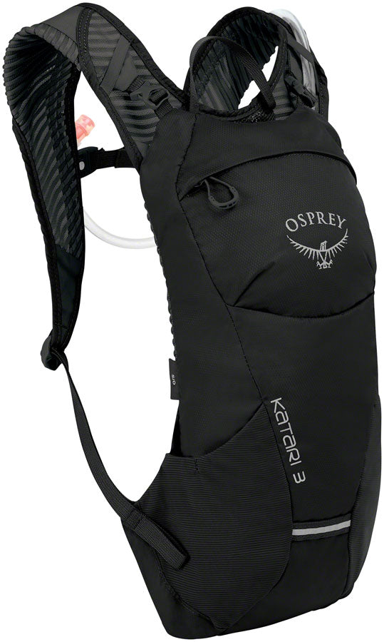 Osprey Katari 3 Hydration Pack: Black