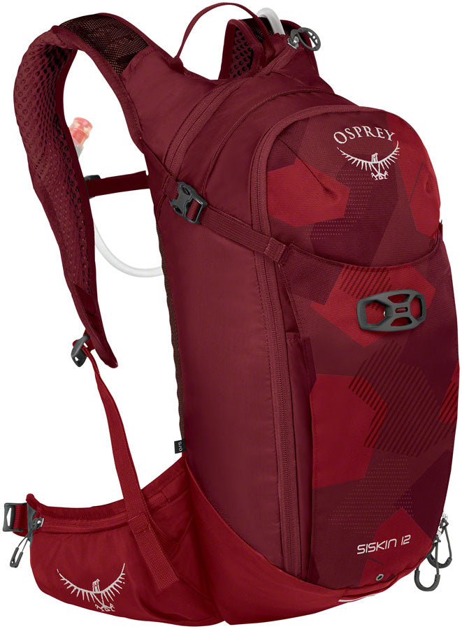 Osprey Siskin 12 Hydration Pack: Molten Red