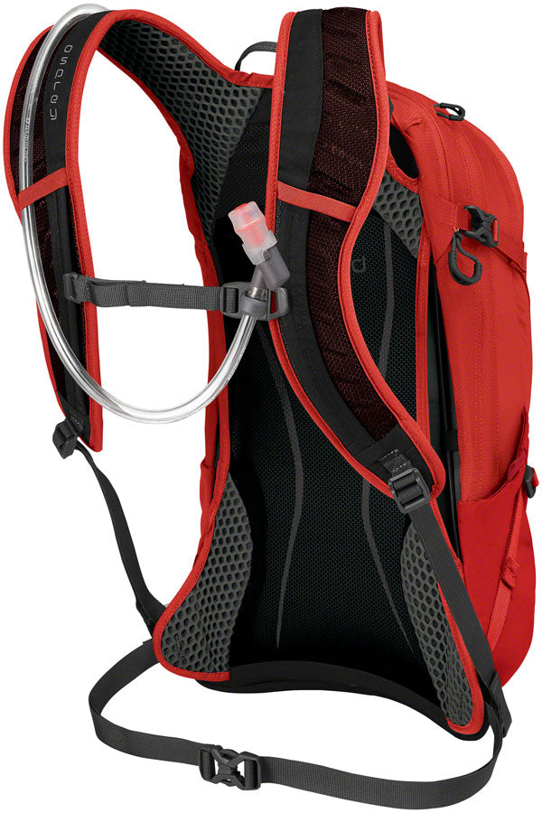 Osprey Syncro 12 Hydration Pack: Firebelly Red