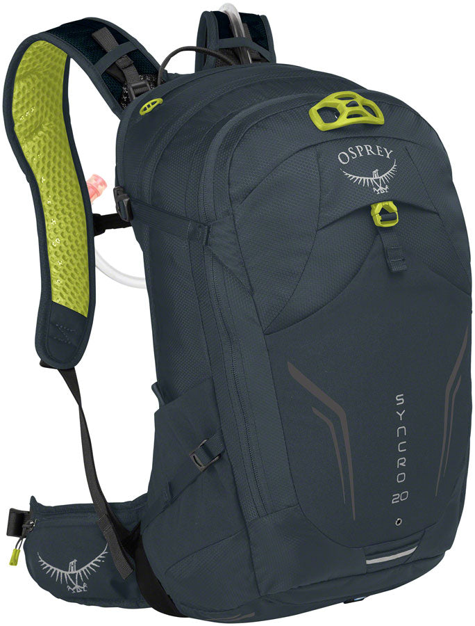 Osprey Syncro 20 Hydration Pack: Wolf Gray