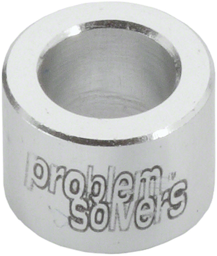 Problem Solvers SpaceOuts 6mm H2O Bottle Cage Spacer Kit, Silver - Water Bottle Cage Hardware - SpaceOuts Sets