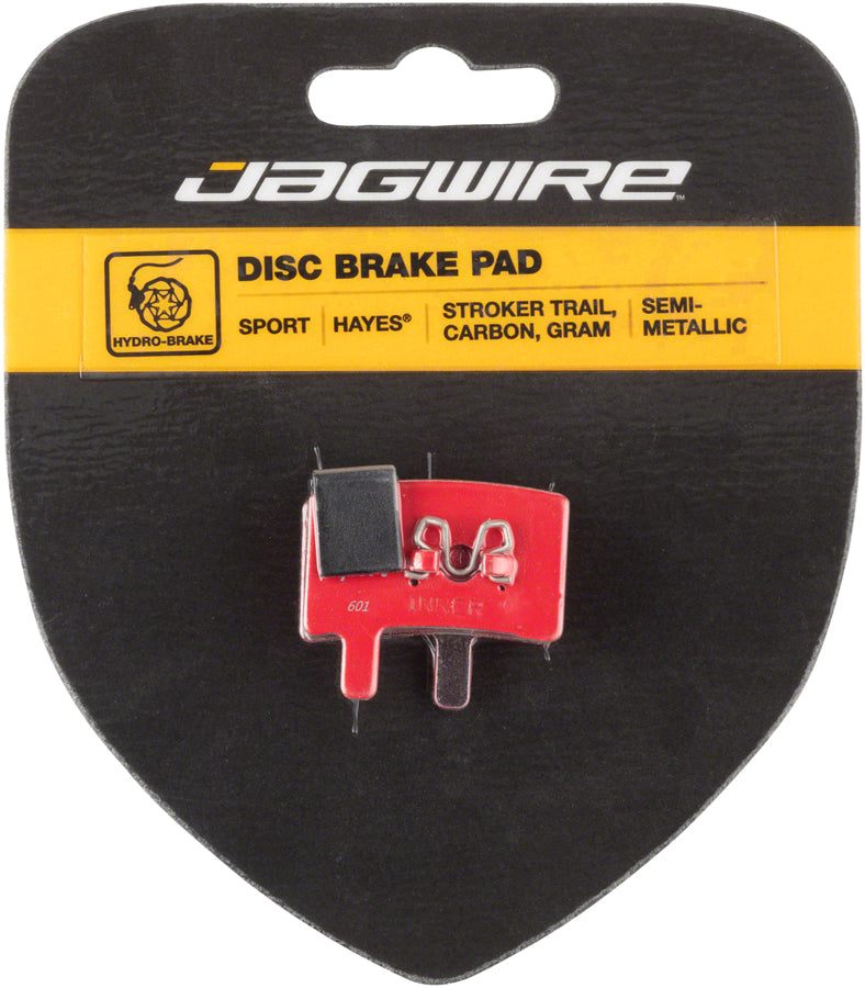 Jagwire Mountain Sport Semi-Metallic Disc Brake Pads for Hayes Stroker Trail, Stroker Carbon, Stroker Gram MPN: DCA073 Disc Brake Pad Hayes Compatible