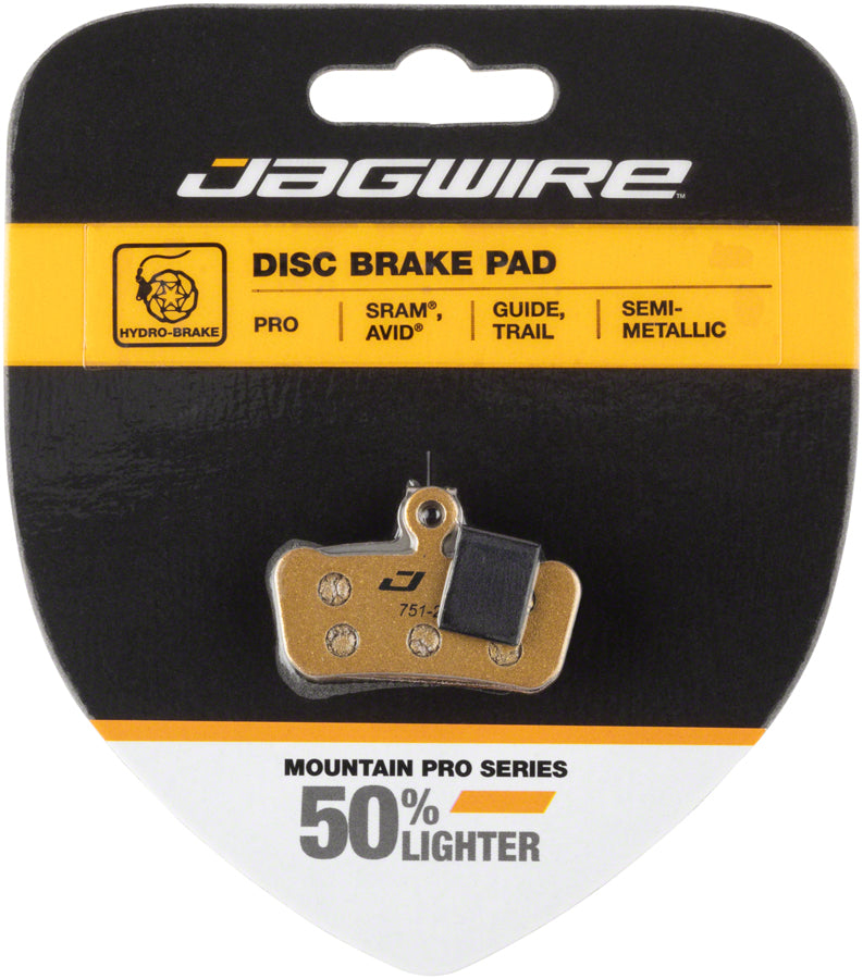 Jagwire Mountain Pro Brake Pad Replacement Inserts Black