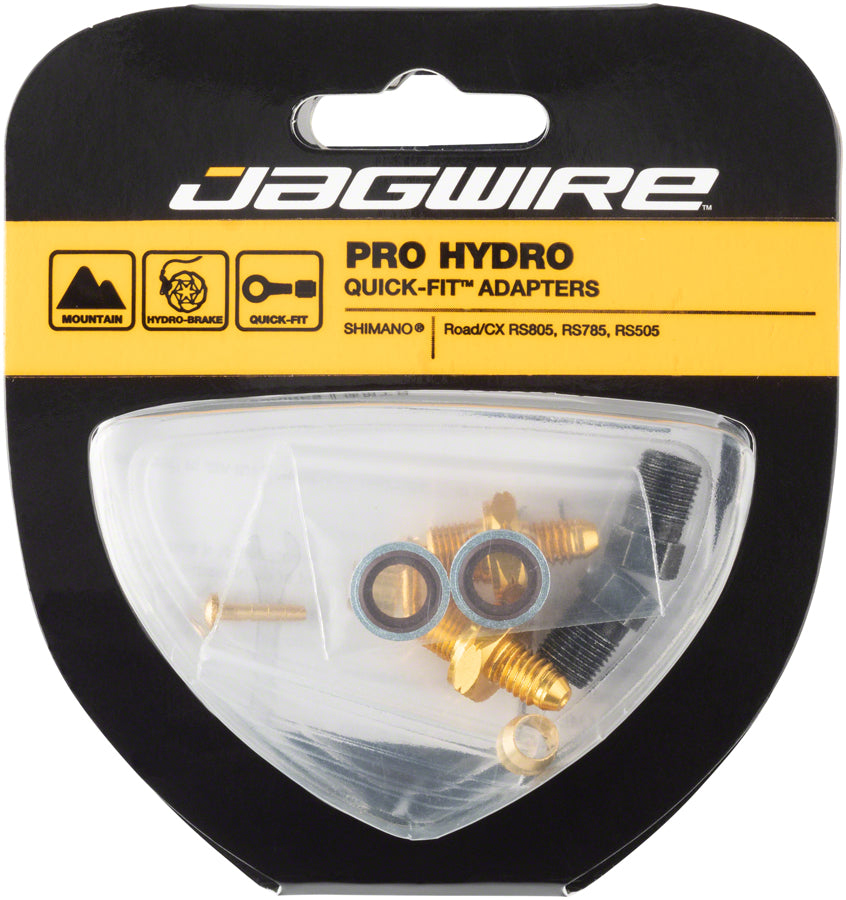 Jagwire Pro Disc Brake Hydraulic Hose Quick-Fit Adaptor for Shimano Road/CX MPN: HFA311 Disc Brake Hose Kit Shimano Mountain Pro Quick-Fit Kits