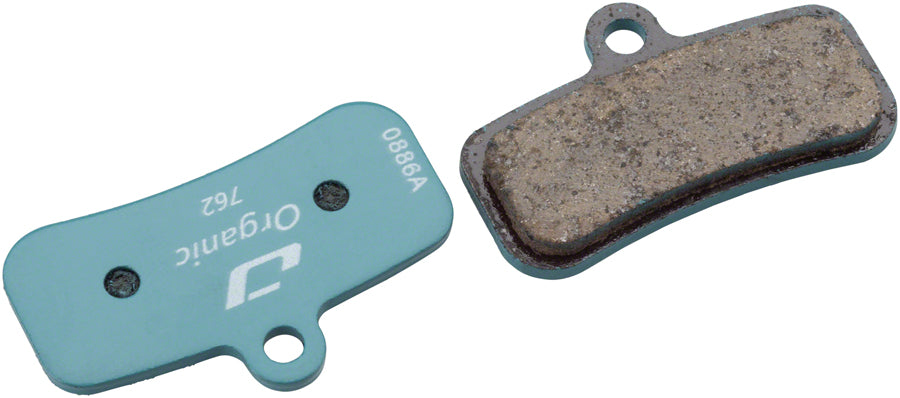 Jagwire Sport Organic Disc Brake Pads - For Shimano Deore XT M8020, Saint M810/M820, and Zee M640 MPN: DCA705 Disc Brake Pad Shimano Compatible