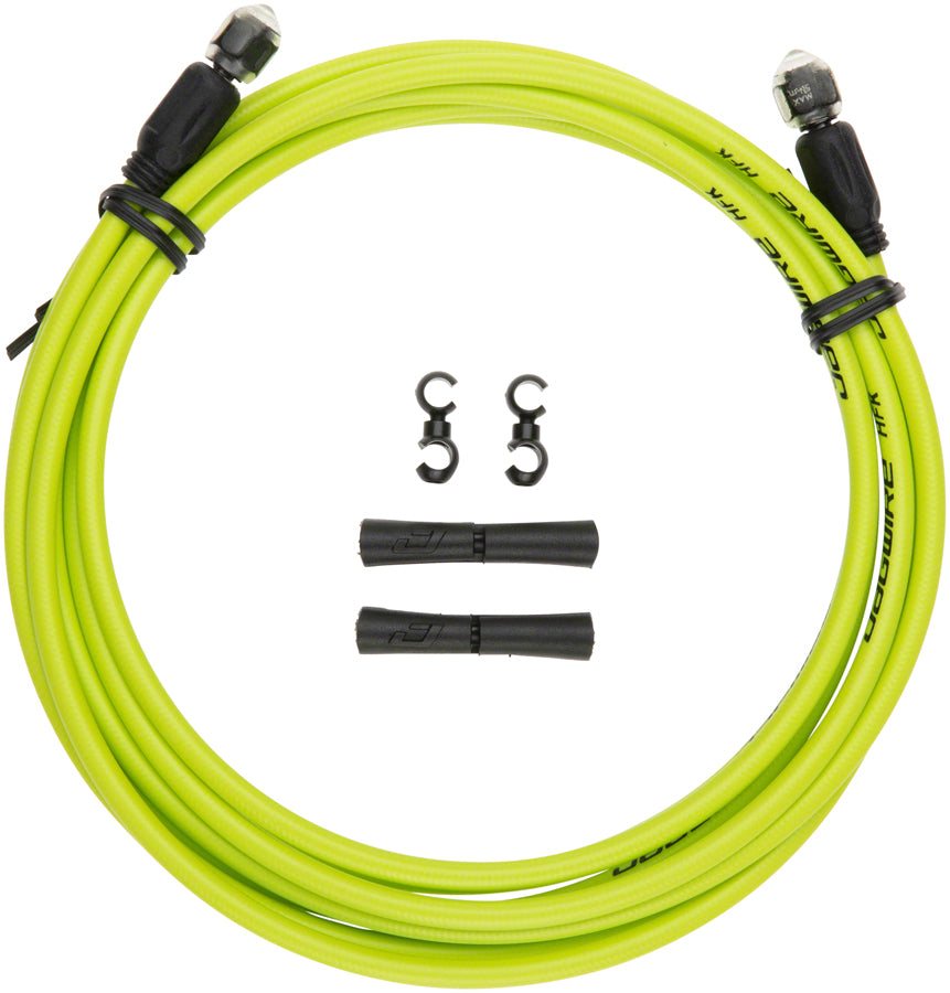 ... Jagwire Mountain Pro Disc Brake Hydraulic Hose 3000mm Organic Green - Disc Brake Hose Kit  sc 1 st  Worldwide Cyclery & Jagwire Mountain Pro Disc Brake Hydraulic Hose 3000mm Organic Green