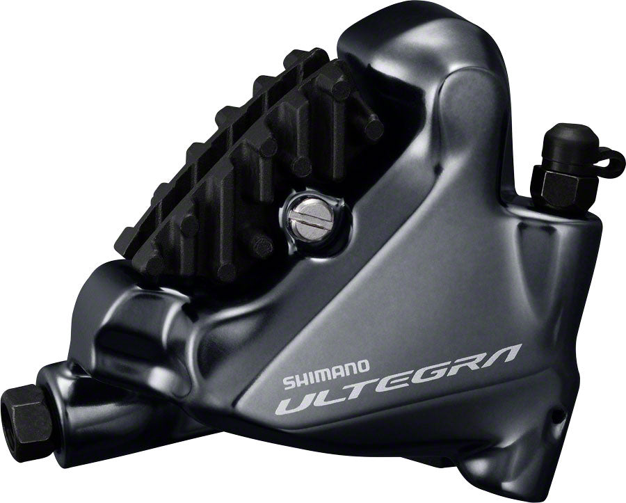 Shimano Ultegra BR-R8070 Rear Flat-Mount Disc Brake Caliper with Resin Pads with Fins