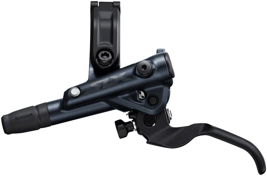 Shimano SLX BL-M7100/BR-M7120 Disc Brake and Lever - Front, Hydraulic, Post Mount, 4-Piston, Black - Disc Brake & Lever - SLX M7100 Disc Brake