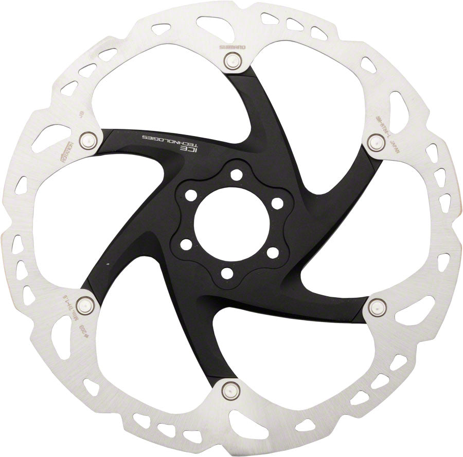 Shimano XT RT86L 203mm 6-Bolt IceTech Disc Brake Rotor MPN: ISMRT86L2 UPC: 689228744684 Disc Rotor XT RT86
