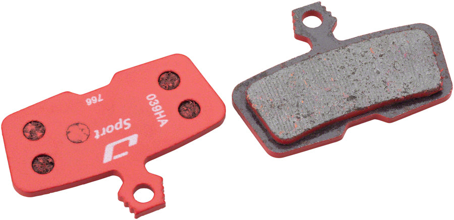 Jagwire Sport Semi-Metallic Disc Brake Pads for SRAM Code RSC, R, Guide RE