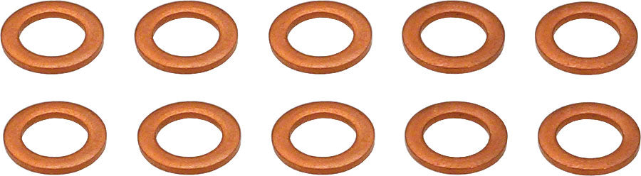 Hope 6mm Copper Seal Washer in a Bag of 10