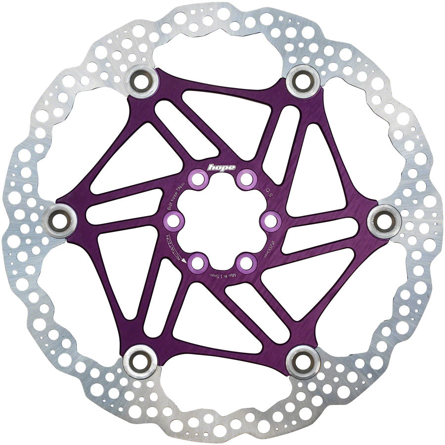 Hope Floating Disc Rotor 200mm Purple MPN: HBSP3302006FPU Disc Rotor Floating Disc Rotor