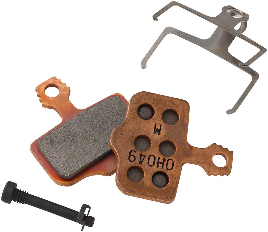 SRAM Disc Brake Pads - Organic Compound, Steel Backed, Powerful, For Level, Elixir, DB, and 2-Piece Road