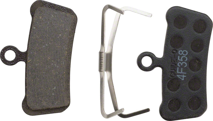 SRAM Disc Brake Pads - Organic Compound, Steel Backed, Quiet, For Trail, Guide, and G2