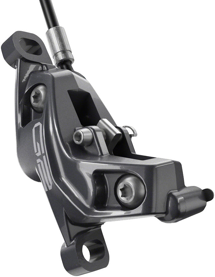 SRAM G2 Ultimate Post-Mount Mount Disc Brake Caliper - Lunar Grey