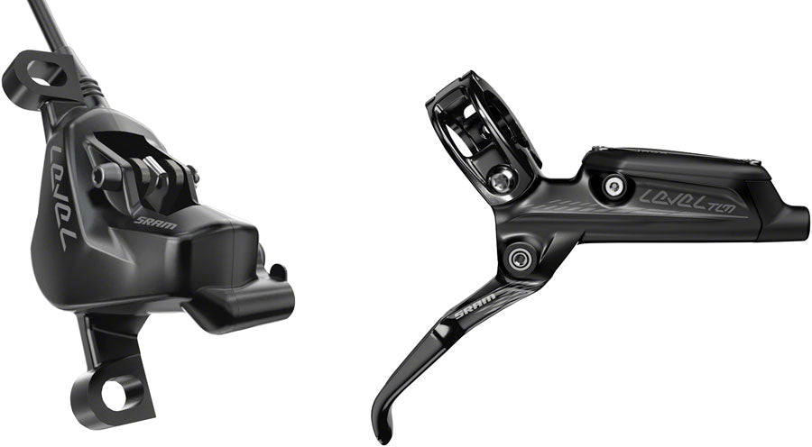 SRAM Level TLM Disc Brake and Lever - Rear, Hydraulic, Post Mount, Diffusion Black, B1
