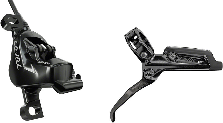 SRAM Level Ultimate Disc Brake and Lever - Rear, Hydraulic, Post Mount, Black, B1