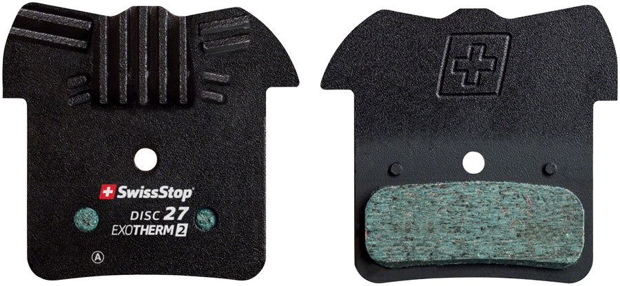 "SwissStop EXOTherm2 Brake Pad Set, Disc 27: for Shimano 4-Piston and Downhill ""H"" Shape MPN: P100005312 Disc Brake Pad EXOTherm2 Disc Brake Pad Set"