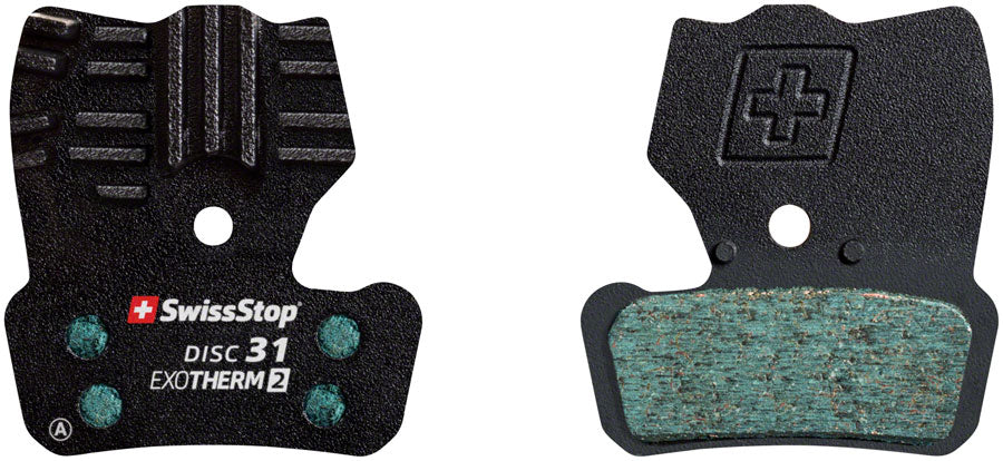 SwissStop EXOTherm2 Brake Pad Set, Disc 31: for SRAM Guide and Elixir Trail MPN: P100005315 Disc Brake Pad EXOTherm2 Disc Brake Pad Set