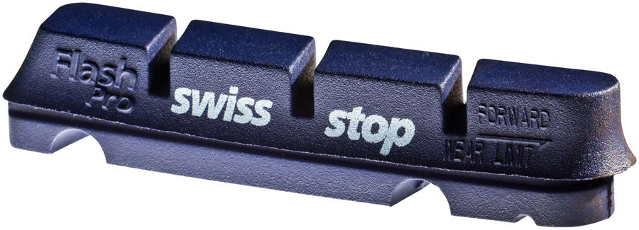 SwissStop FlashPro Set of 4 SRAM/Shimano Rim Brake Inserts, BXP Compound MPN: P100003203 Brake Shoe and Pad FlashPro Rim Brake Inserts