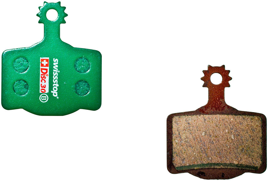 SwissStop Organic Compound Disc Brake Pad Set, Disc 30: for Magura MT 2-Piston and Campagnolo MPN: P100002876 Disc Brake Pad Organic Disc Brake Pad Set
