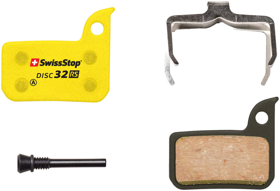 SwissStop RS Organic Compound Disc Brake Pad Set, Disc 32: for SRAM Road and Level Ultimate/TLM MPN: P100005051 Disc Brake Pad RS Disc Brake Pad Set