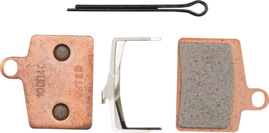 Hayes Disc Brake Pads Sintered Steel Back for Dyno, Stroker Ryde, Radar, Prime Sport MPN: 98-27624-K003 UPC: 844171059630 Disc Brake Pad Dyno Comp/Ryde/Radar
