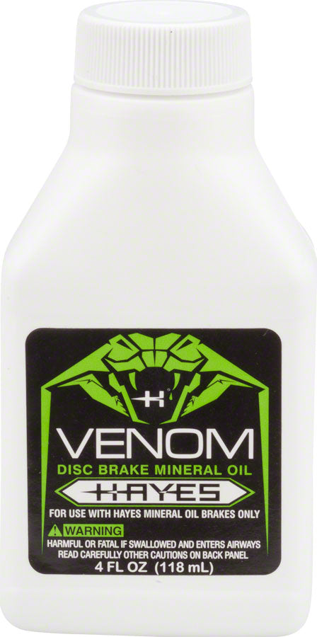 Hayes Venom Mineral Oil Brake Fluid 4oz