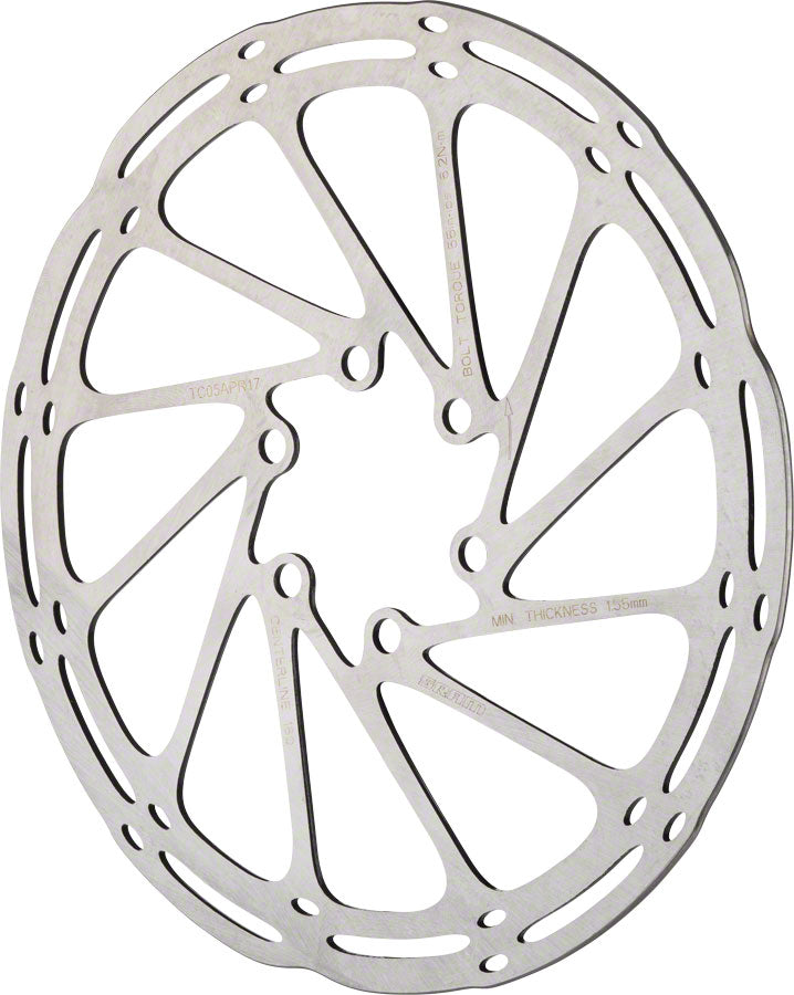 SRAM CenterLine Disc Brake Rotor - 180mm, 6-Bolt, Silver
